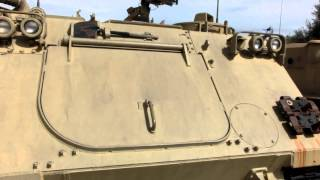 M113 A1 (A1 - Diesel) Armored Personnel Carrier,  US -FMC made APC, widely used by IDF