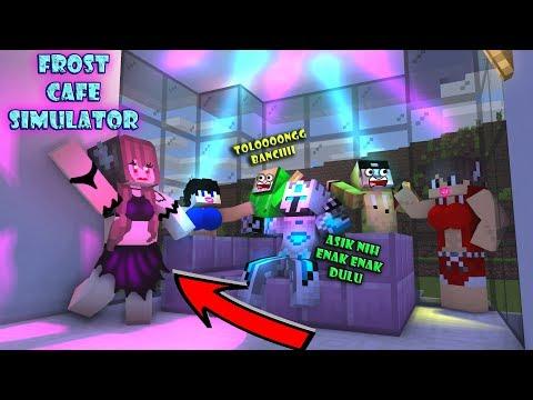 ANIMASI FROST DIAMOND BIKIN CAFE 100JUTA  ! - Minecraft Animation