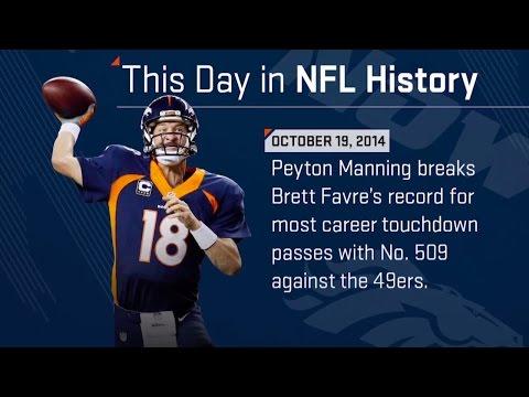 Peyton Manning Breaks Brett Favre