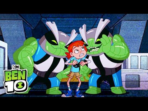 Ben 10 | Double the Alien Trouble | Cartoon Network