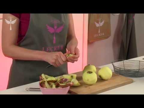 Apfelstreuselkuchen mit Rahmguss