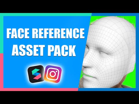 Face Reference Assets for Filter Effects | Instagram & Facebook | Spark AR Tutorial thumbnail
