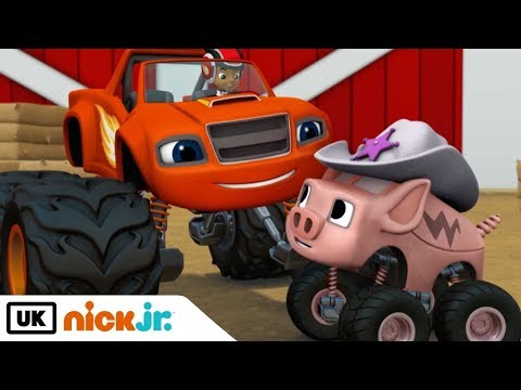 Blaze and the Monster Machines | Piggy 500 | Nick Jr. UK