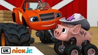 Blaze and the Monster Machines | Piggy 500 | Nick Jr. UK