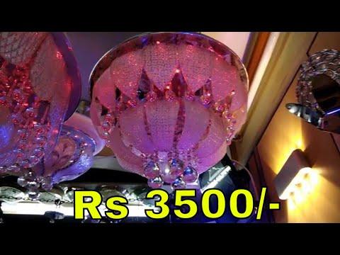 Wholesale Decoration Items Jhoomers, Lights & many more - Delhi Vlogs