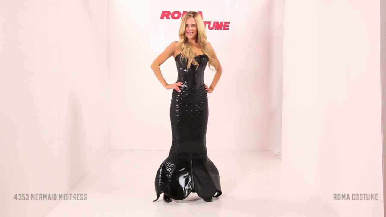 Mistress Mermaid Costume & Mistress Mermaid Costume - YouTube