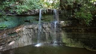神奈川県 鎌倉市 今泉 砂押川支流 陰陽の滝