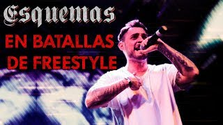 INCREÍBLES ESQUEMAS en Batallas de Freestyle Rap