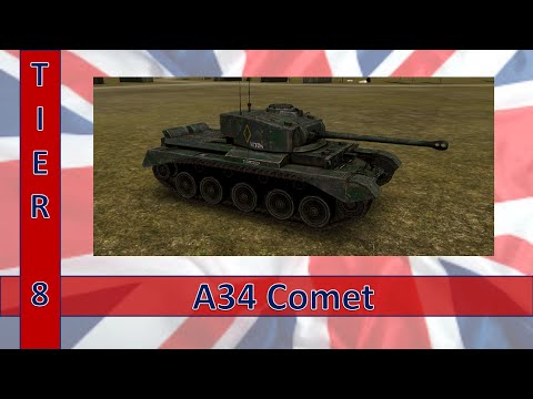 Armored Aces Comet vs T30