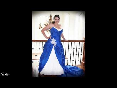 Wedding Dresses Blue