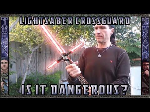 Star Wars: Episode VII Lightsaber Crossguard Tested - Is It Dangerous?