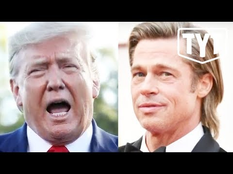 Unhinged Trump Rants About Brad Pitt