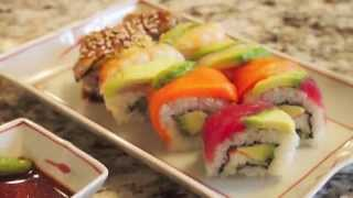 Melodee's California Roll & Rainbow Roll Sushi!★ レインボーロールの作り方
