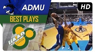 Thirdy Ravena STRONG hangtime finish through contact! | ADMU | Best Plays