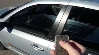 Remote windows closing in Renault Laguna II