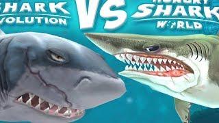 Мультик игра про акул | Проходим игру про злую акулу hangry shark world | ФАНИ ГЕЙМС