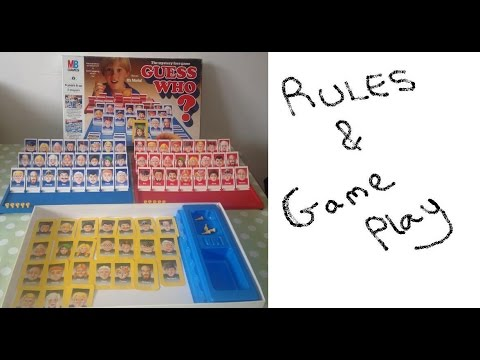 how to play guess who board game instructions set up game play rh youtube com Guess Who's Coming to Dinner Guess Who Coming to Dinner Remake