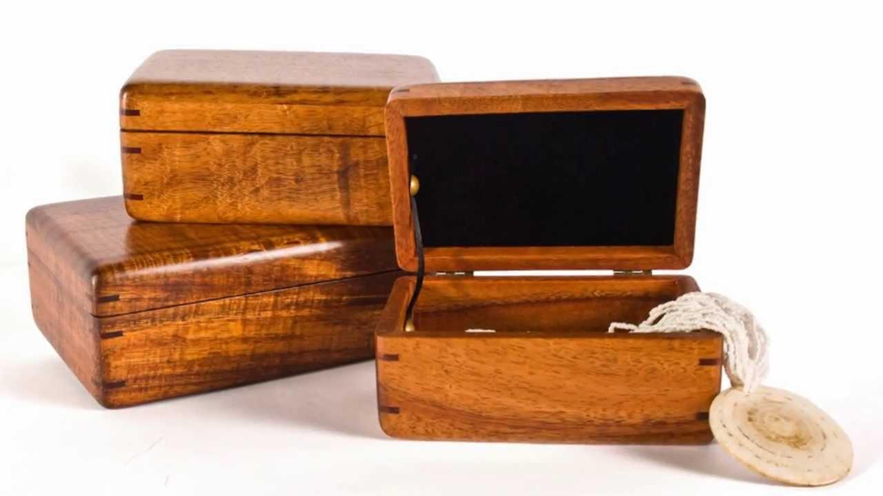 Hawaiian Koa Wood Boxes Made In Hawaii Martin And
