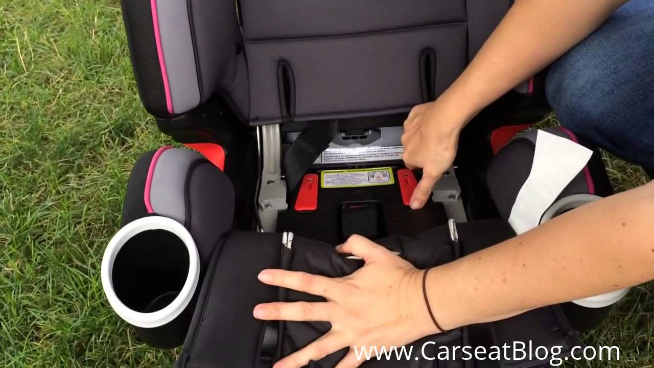 Graco 4Ever Review: Backless Booster Mode - YouTube