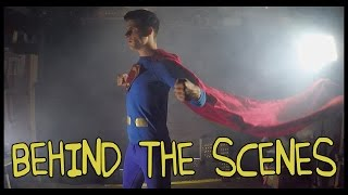 Batman v superman trailer- homemade behind the scenes