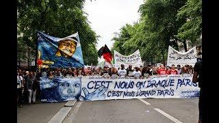Paris : quelques incidents lors de la marée populaire