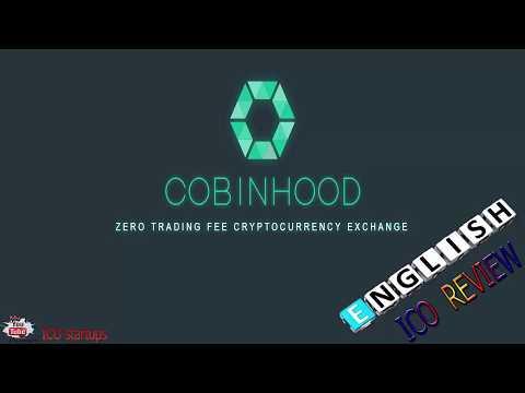 COBINHOOD ZERO TRADING FEE CRYPTOCURRENCY EXCHANGE! ICO REVIEW!