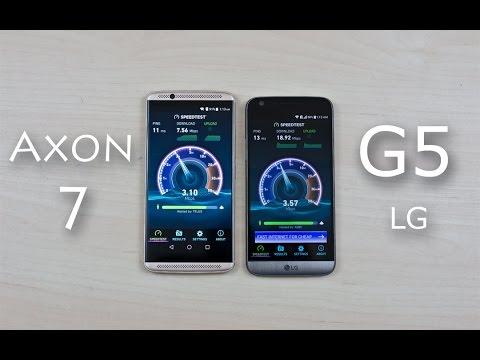 ZTE Axon 7 vs LG G5