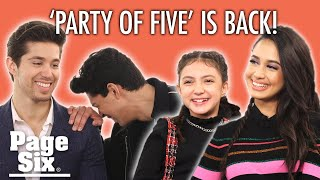 Which 'Party of Five' actor is obsessed with 'YOU'? | Page Six Celebrity News