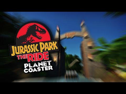 Planet Coaster | 🦖 Jurassic Park - The Ride  | POV + Download Link