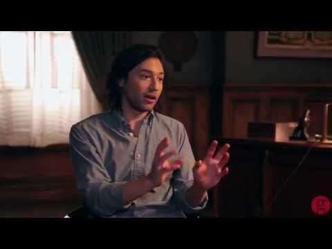 Jesse Rath on the set of 'Defiance' season 2