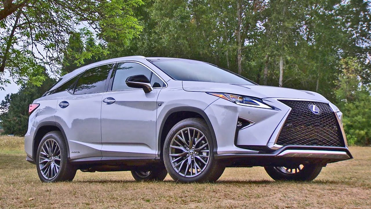 lexus rx 450h f sport 2016 luxury suv youtube. Black Bedroom Furniture Sets. Home Design Ideas