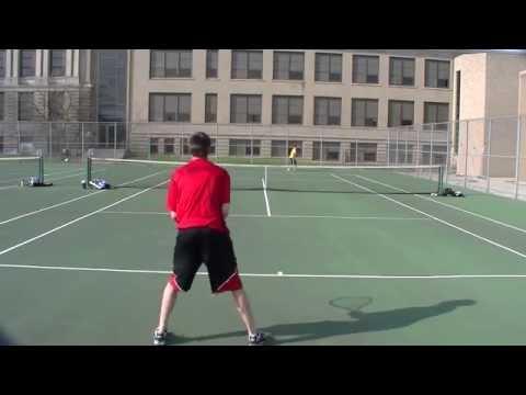 Tecumseh Arrows Tennis vs Springfield Wildcats 4-11-2014