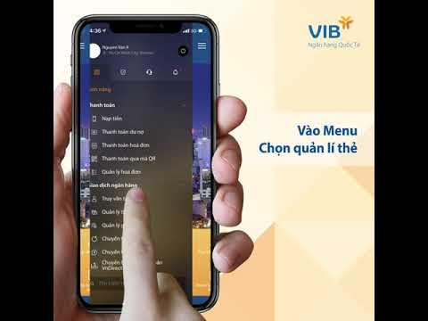 Hướng Dẫn Sử Dụng Thẻ Tín Dụng điện Tử VIB  (Virtual Card)