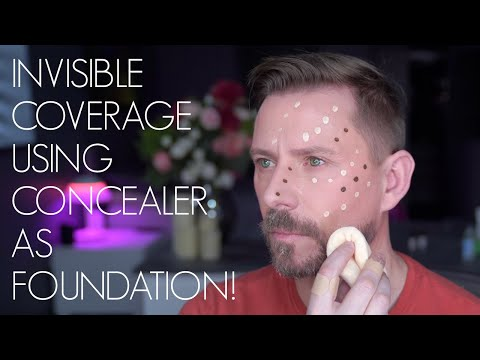 Concealer As Foundation
