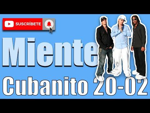 DJ FLIPPER CUBANITO /MIENTE CUBANITO 20-02