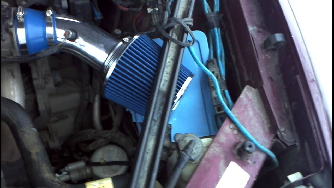 Buick regal 1998 ls ' cold air intake. - YouTube
