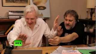 Julian Assange's The World Tomorrow: Slavoj Zizek & David Horowitz (E2)