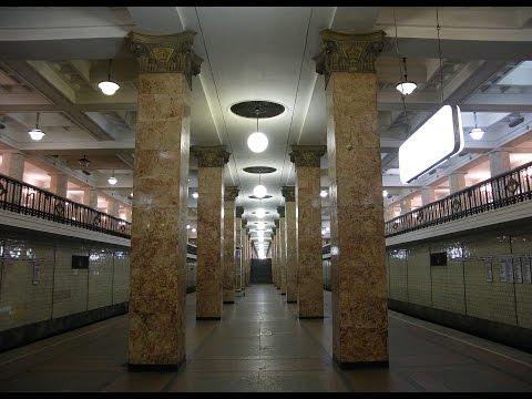 Moscow Underground System. Sokolnicheskaya line.