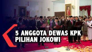 Mengenal 5 Anggota Dewan Pengawas KPK Pilihan Jokowi