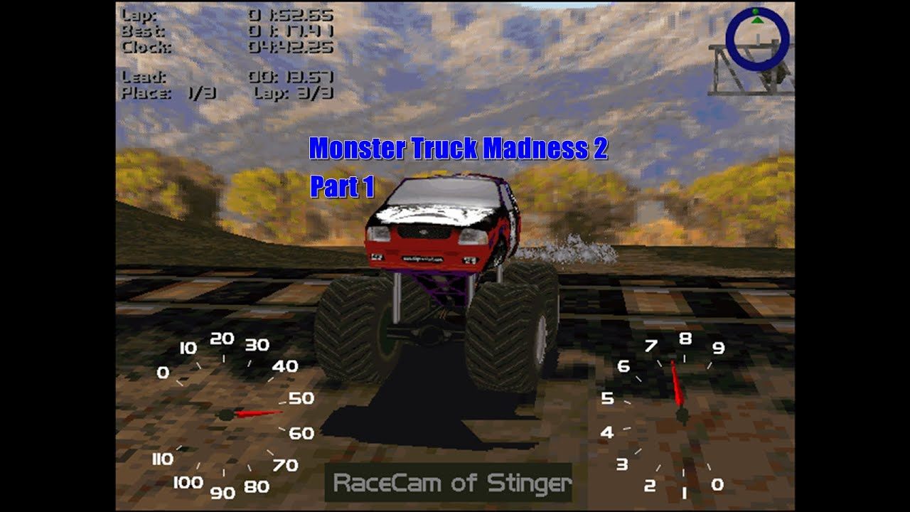 play monster truck madness 2