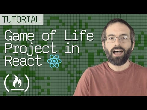 React Project Tutorial - Game of Life