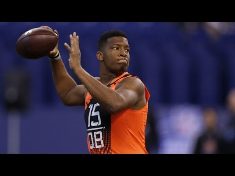 Jameis Winston (Florida State, QB) 2015 NFL Combine highlights