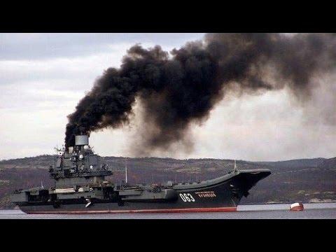 """Невидимый для радаров """"Адмирал Кузнецов"""" в Сирии"""