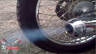 suzuki AX 100 silbando, la moto que silba ✓