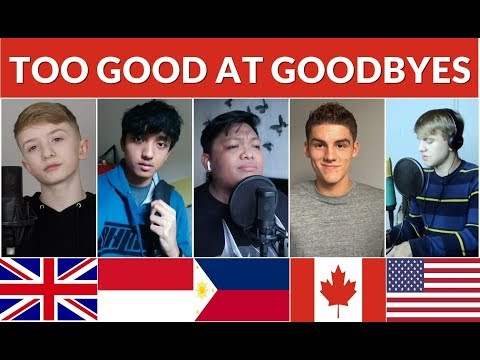 Who Sang It Better : Too Good At Goodbyes (USA, Philippines, Canada, UK, Indonesia)