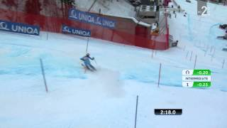 Video FIS  Ladies Super Combined 2013 Schladming Tina MAZE 2nd Place SL download MP3, 3GP, MP4, WEBM, AVI, FLV Agustus 2018