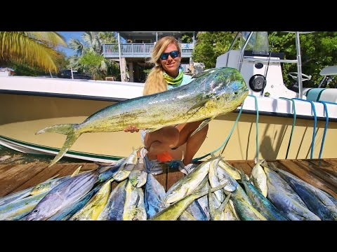 WE WON! 1st Place Lady Angler Florida Keys Offshore Mahi Fishing Tournament!