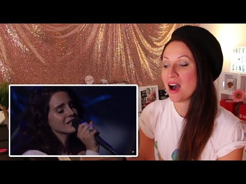 Vocal Coach REACTS to LANA DEL REY'S- BEST LIVE VOCALS