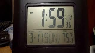 Atomic Clock Daylight Savings Time Spring 2018