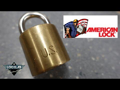 (1673) US-Issue Barrel Lock American